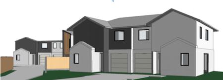 Subdivision of 4 Duplex