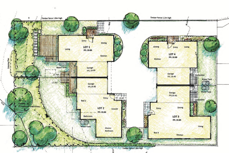 Land Use & Sub 4 dwellings
